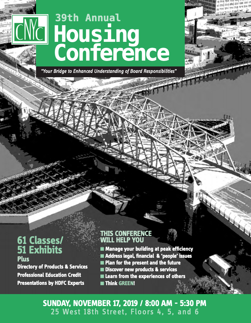 CNYC 39th Annual Cooperative Housing Conference